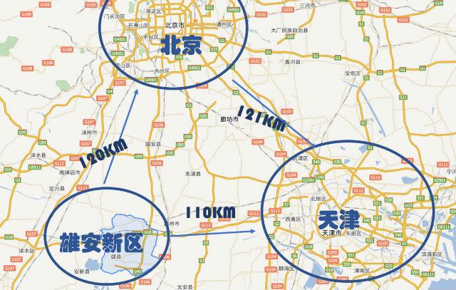 Triángulo Beijing-Xiongan-Tianjin