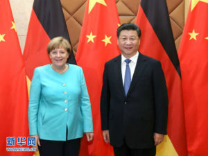 Xi en su gira a Alemania