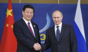Xi en su gira a Rusia