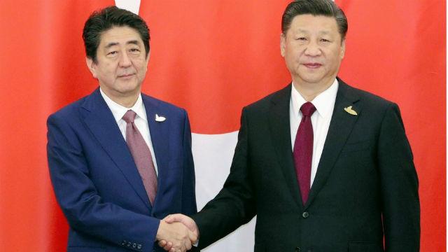 los jefes de estado de China y Japón se reunieron en la cumbre del G20