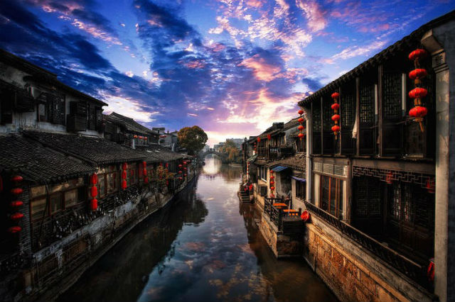 Xitang - pueblos acuáticos de China