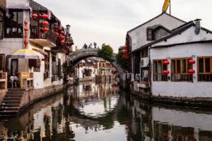 Zhujiajiao - pueblos acuáticos de China