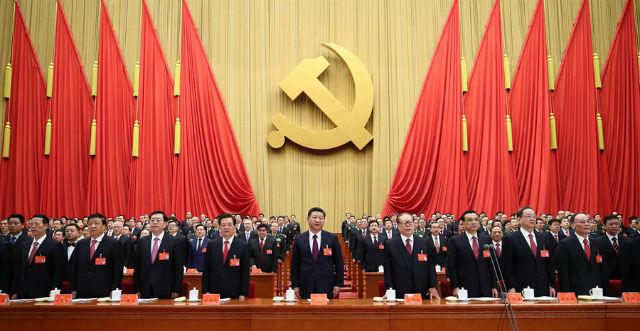 Apertura del 19 Congreso Nacional del Partido Comunista Chino