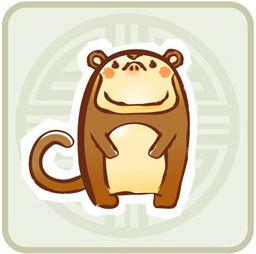 mono zodiaco chino