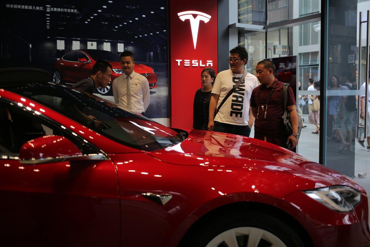 China constituye 17 porciento de los ingresos de Tesla