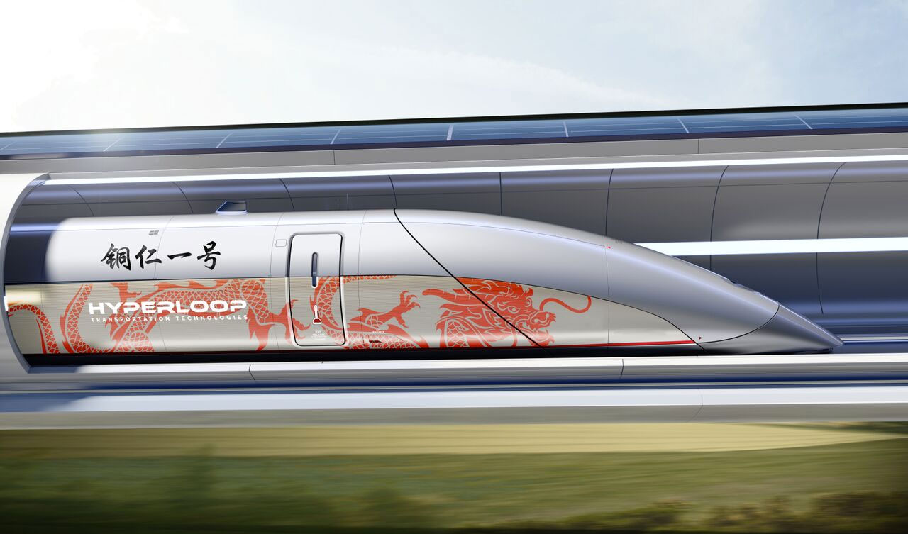 HTT construirá hyperloop en Tongren China