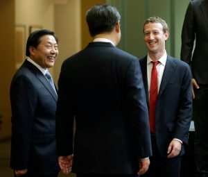 Mark Zuckerberg en China - Xi Jinping y Lu Wei