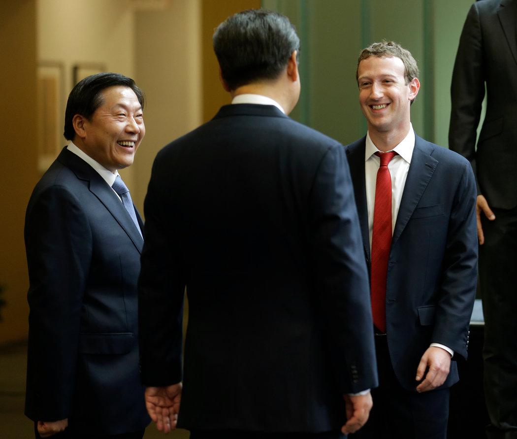 Zuckerberg en China - Lu Wei y Xi Jinping