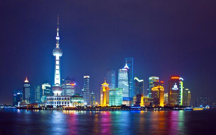 Vista de Pudong desde el Bund