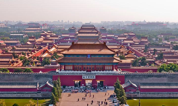 Tiananmen y la Ciudad Prohibida