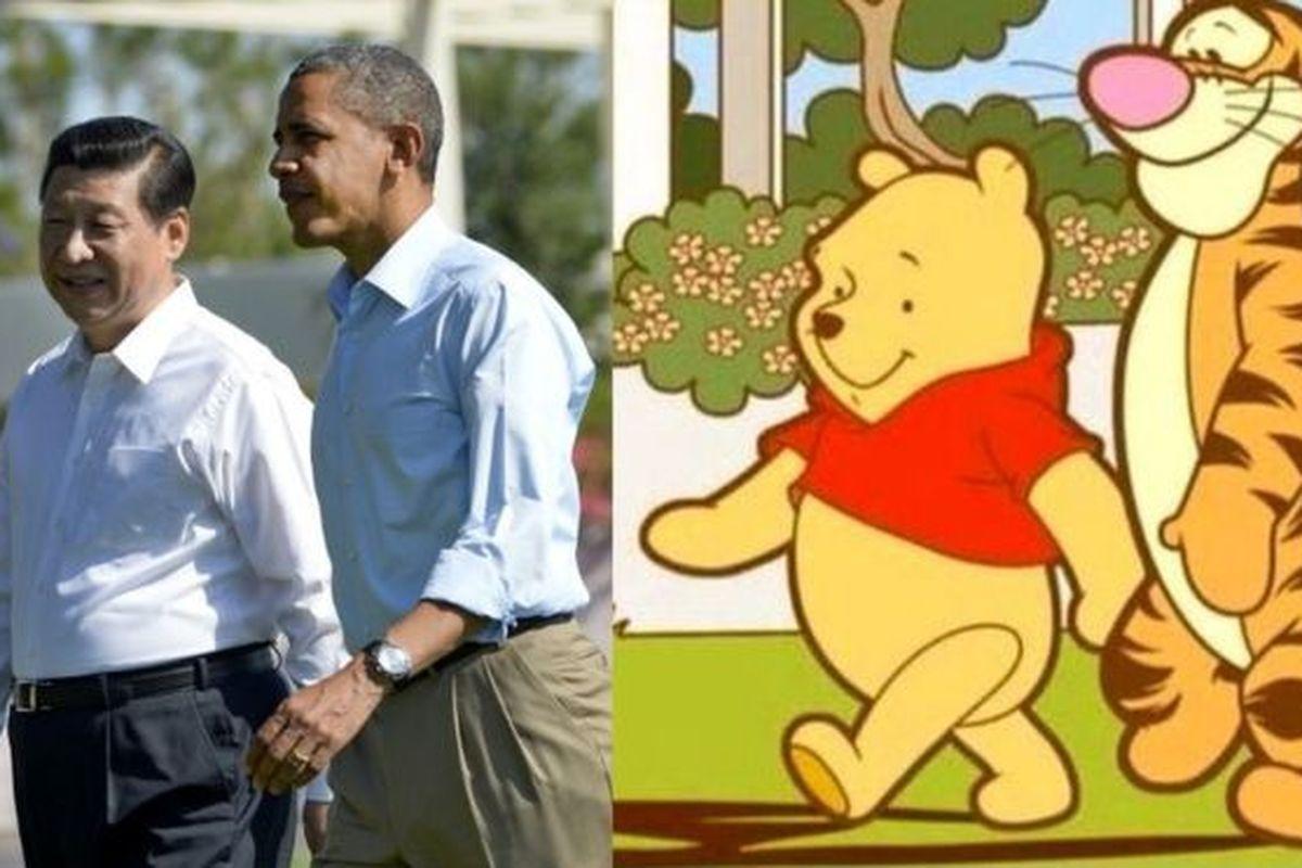 Winnie Pooh - cosas bloqueadas en China