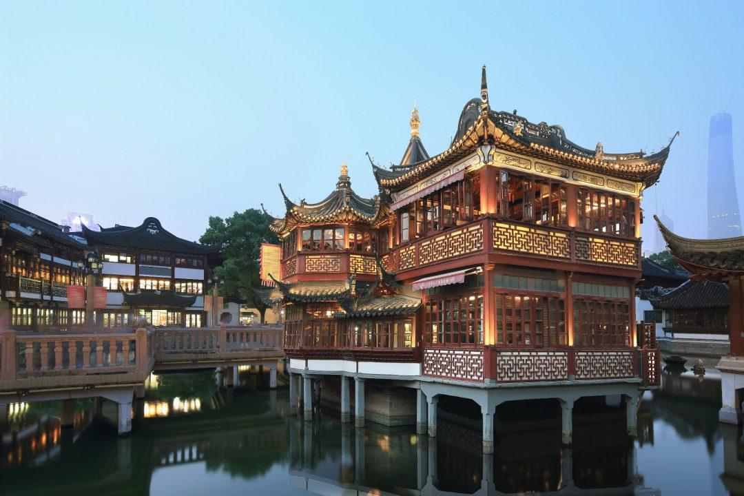 Jardín de Yu Yuan, Shanghái