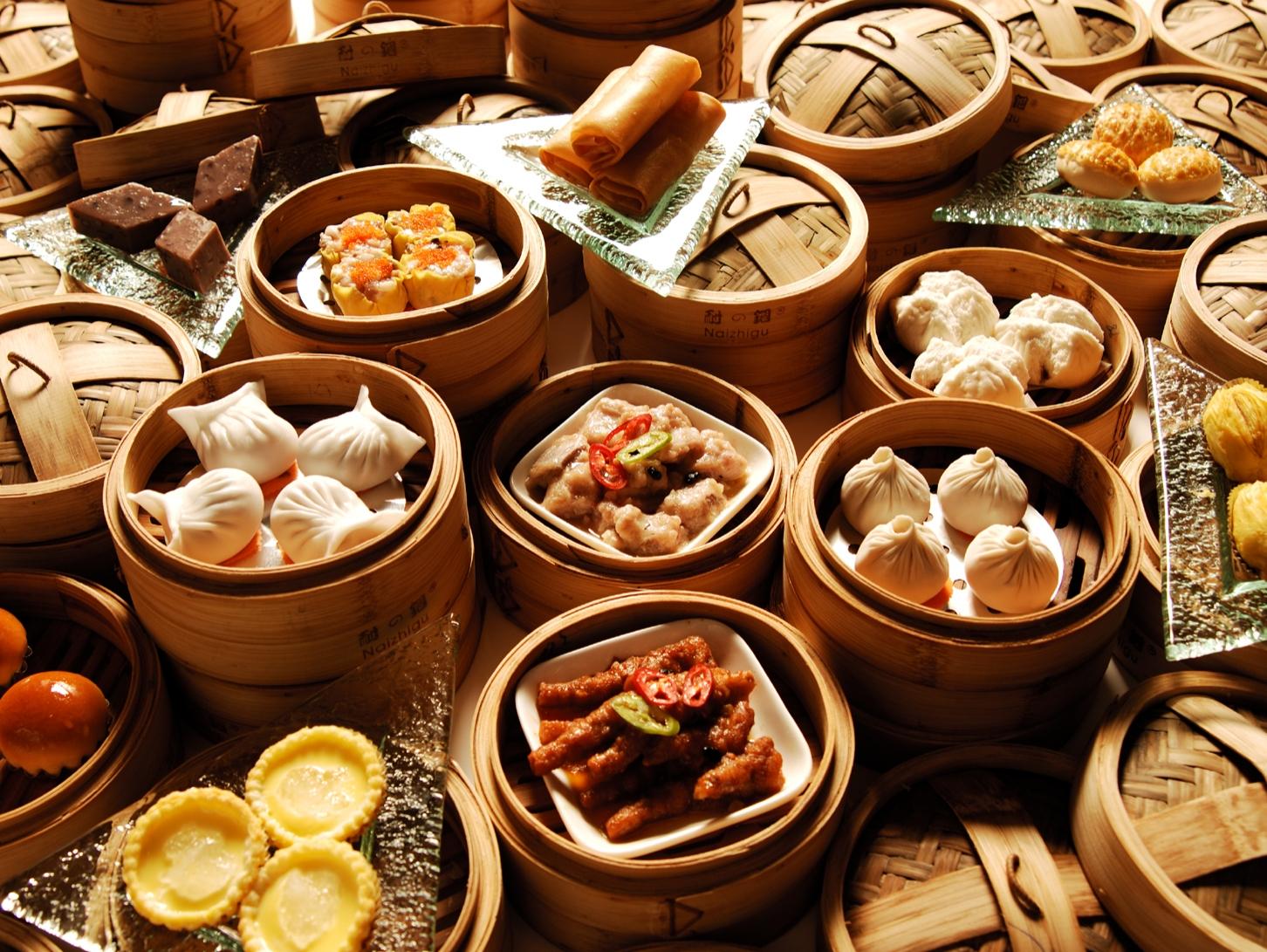 Dim Sum, bocadillos típicos de Guangzhou