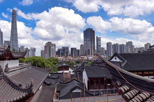 Shanghái vieja, Shanghái nueva