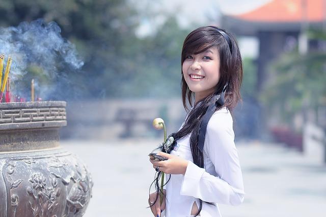 mujer de clase media china