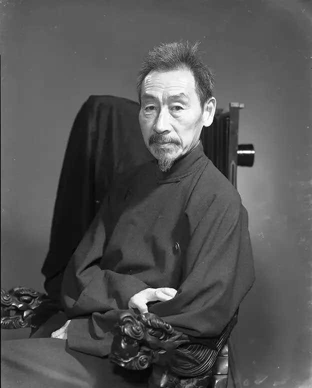 Retrato de Lang Jingshan