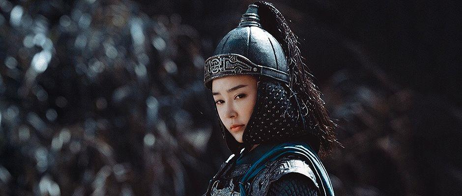 princesa Pingyang, representación en un drama de época.