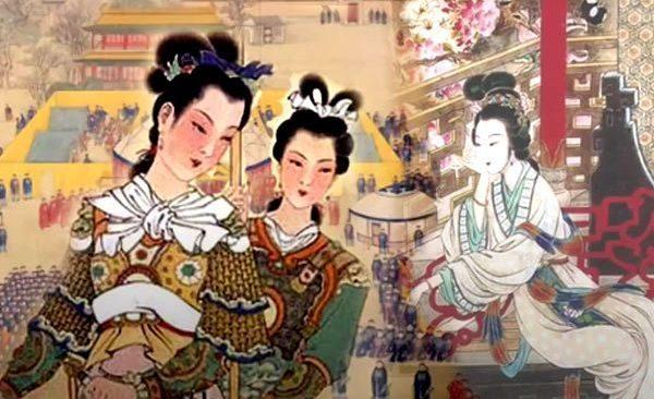 ilustraciones de la princesa Pingyang