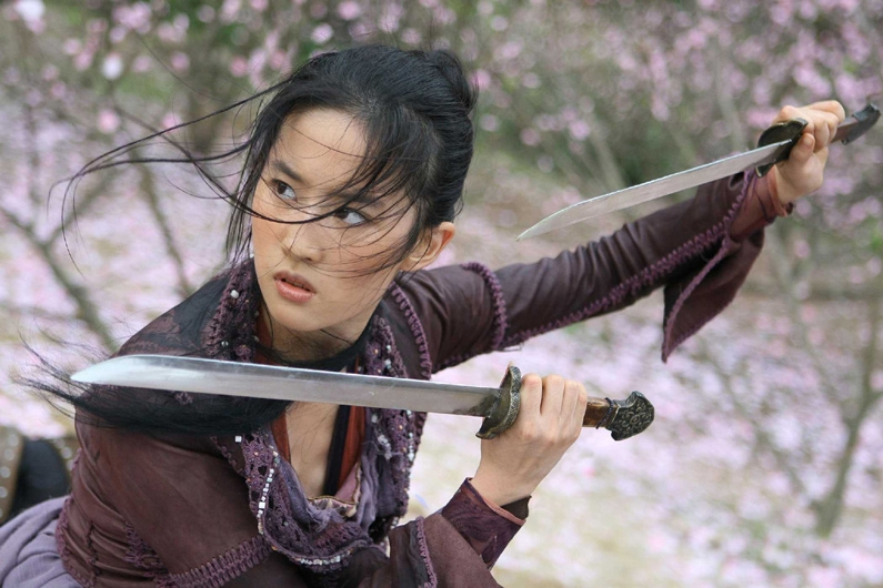 Liu Yifei en The Forbidden Kingdom