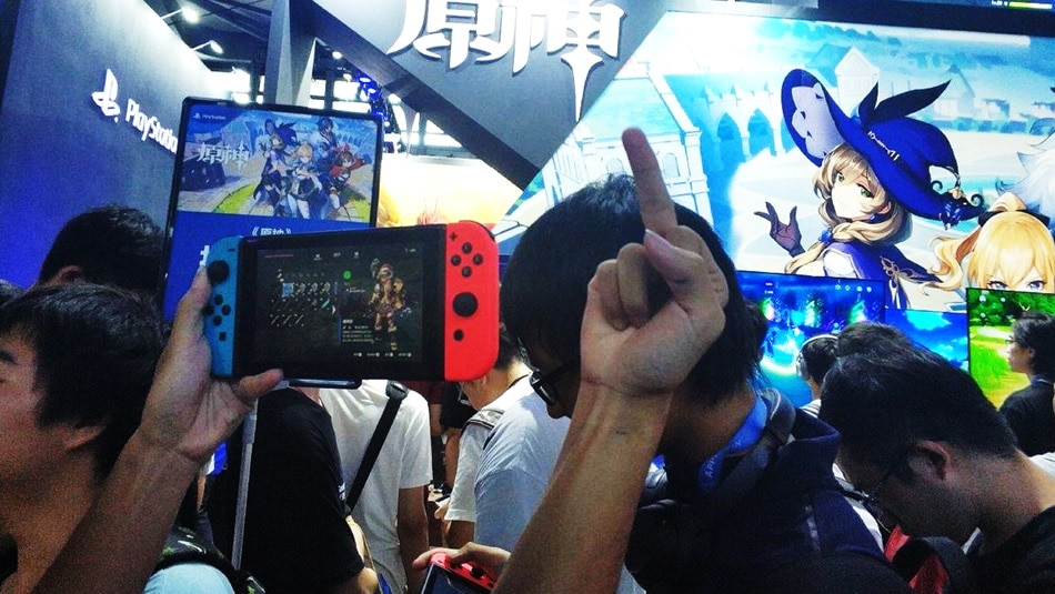 Fans de Nintendo llevaron su Switch para protestar contra Sony